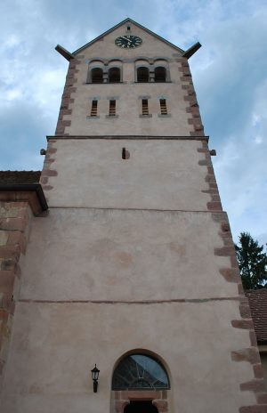 Tour de l'église Saint-Rémi d'Itterswiller