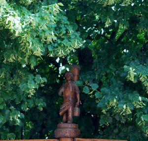 Homovimium au centre du village
