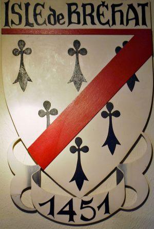 Blason de l'Ile-de-Bréhat dans les Côtes d'Armor